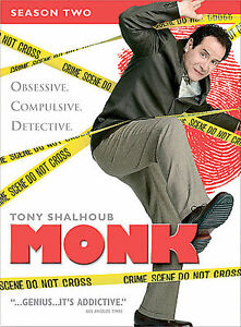 Monk - Season 2 (DVD, 2005, 4-Disc Set)
