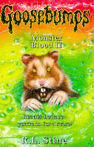 Details about Monster Blood II  Goosebumps   R  L  Stine  Good BooksGoosebumps Monster Blood