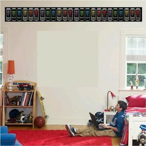 energy drink sticker bedroom fathead wall border home decor wallpaper