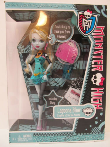 Monster High Lagoona Blue Doll & Accessories - Daughter of the Sea Monster in Dolls & Bears, Dolls, By Brand, Company, Character | eBay