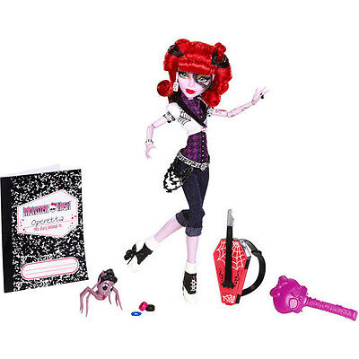 Monster High Operetta Daughter of Phantom of Opera & Pet Spider Memphis Longlegs