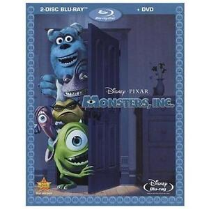 Monsters, Inc. (Blu-ray/DVD, 2010, 2-Dis...