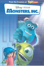 Monsters, Inc. (DVD, 2002)