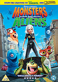 Monsters Vs Aliens (DVD, 2009)