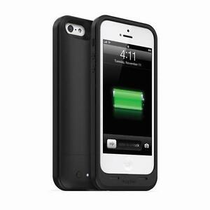 Mophie-Juice-Pack-Air-Cover-Huelle-fuer-iPhone-5-5S-SE-Schwarz-mit-1700mAh-Akku