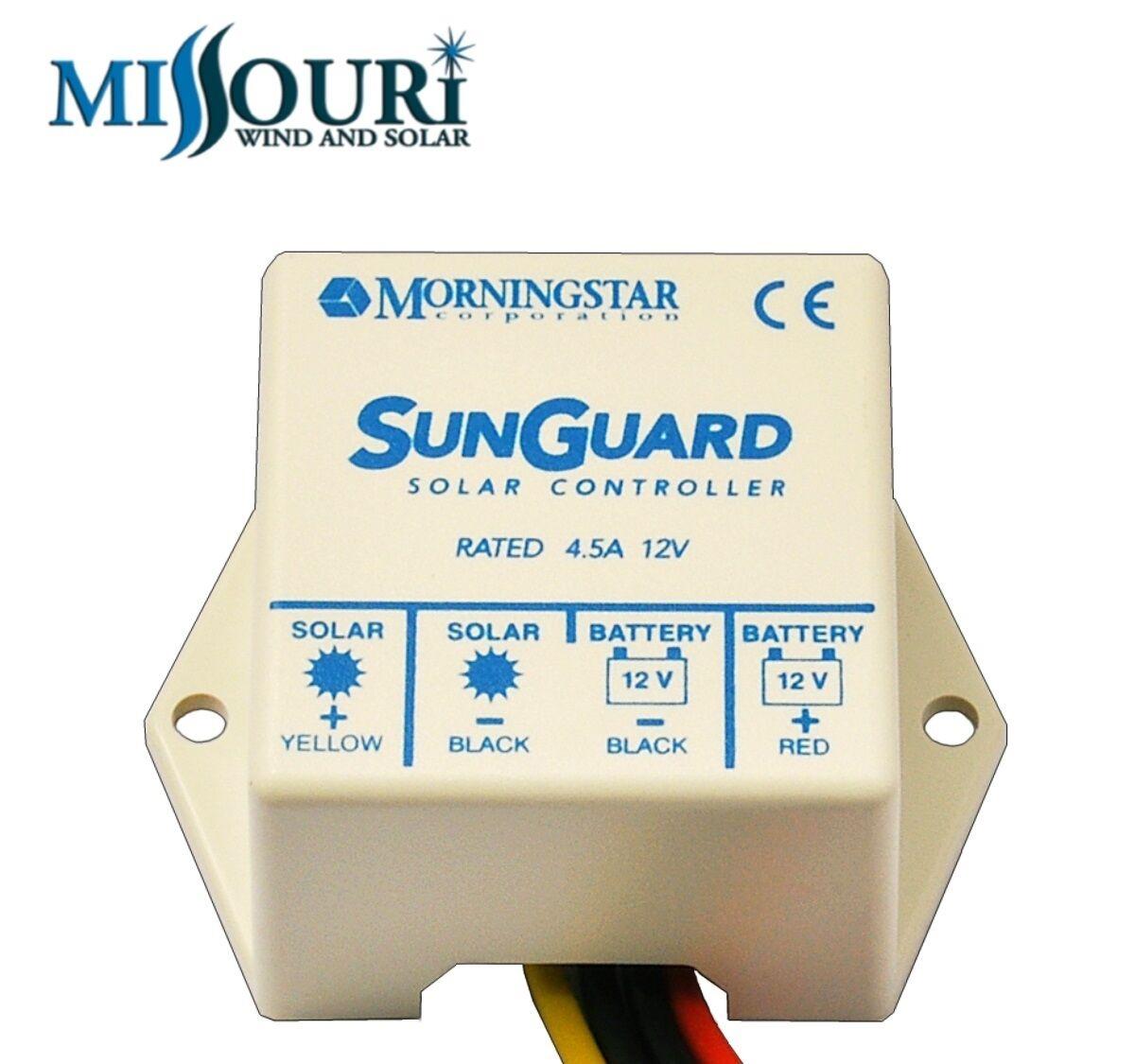 Morningstar Sunguard Sg4 4 5 Amp 12 Volt Solar Charge
