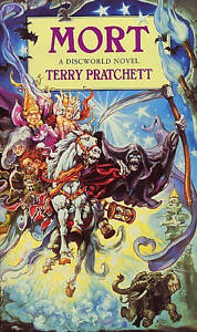 Mort-A-Discworld-Novel-Terry-Pratchett-Paperback-book