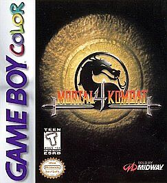 Mortal Kombat 4  (Nintendo Game Boy Colo...