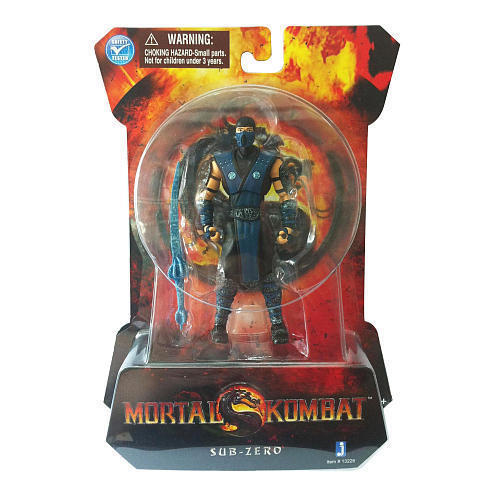 Mortal Kombat Classic Ninja Sub-Zero Action Figure NEW Vintage Action Detailed in Toys & Hobbies, Action Figures, TV, Movie & Video Games | eBay