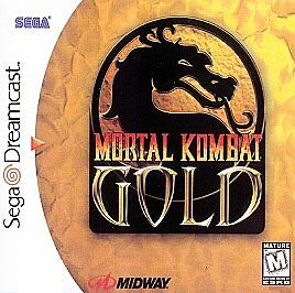 Mortal Kombat Gold  (Sega Dreamcast, 199...