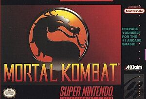 Mortal Kombat  (Super NES, 1993)