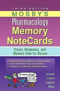 Mosby's Pharmacology Memory NoteCards : ...
