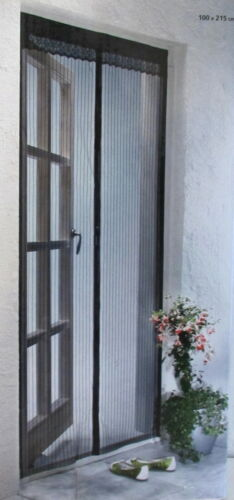 moskitonetz t rvorhang neu mit magnetverschluss 215x100 cm ebay. Black Bedroom Furniture Sets. Home Design Ideas