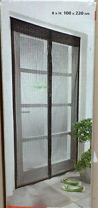 moskitovorhang t r fliegengitter mo ski to vor hang magnetverschlu moskitonetz ebay. Black Bedroom Furniture Sets. Home Design Ideas