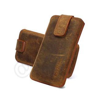 Motion-echt-Leder-Tasche-fuer-Samsung-Galaxy-S5-Antik-Etui-Case-Huelle-tobacco