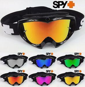 motocross brille spy optics targa 2 legierung mx schwarz. Black Bedroom Furniture Sets. Home Design Ideas