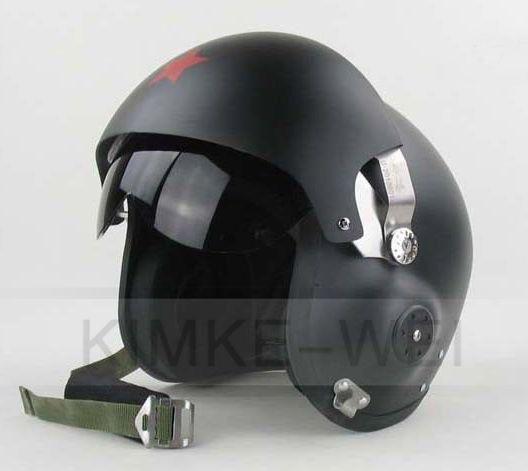 Fighter Pilot Motorcycle Helmet Non-cosplay, pu...