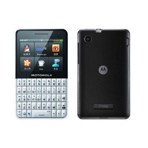 Motorola EX223 Unlocked GSM Cell Phone w Dual Sim Touchscreen Camera FM Radio