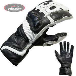 Motorradhandschuhe-Racing-Leder-Motorrad-Handschuhe-M-XXL