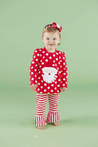 Mud Pie Christmas Baby Infant Girls Santa Tunic & Striped Leggings 0M - 3T in Clothing, Shoes & Accessories, Baby & Toddler Clothing, Girls' Clothing (Newborn-5T) | eBay