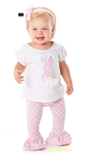 Mud Pie Easter Girls Pink White Bunny Tunic & Flared Leggings 0M - 5T Preorder in Clothing, Shoes & Accessories, Baby & Toddler Clothing, Girls' Clothing (Newborn-5T) | eBay