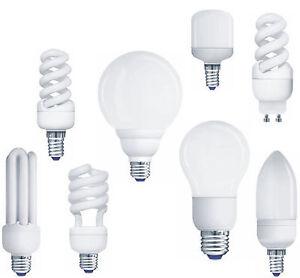 Mueller-Licht-Energiesparlampe-Kerze-Rohr-Spirale-Birne-E27-E14-GU10-Energy-Saver
