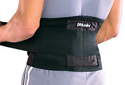 Mueller Sports Adjustable Back Brace Support Universal Lifting Belt-Black in Health & Beauty, Medical, Mobility & Disability, Braces & Supports | eBay