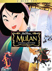 Mulan (DVD, 2004, 2-Disc Set, Special Ed...