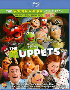 The Muppets (Blu-ray/DVD, 2012, 3-Disc S...