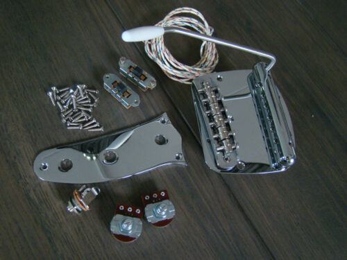 mustang guitar full replacement hardware pickguard wiring kit fits fender new. Black Bedroom Furniture Sets. Home Design Ideas