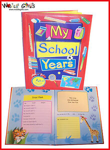 My-School-Years-Record-Book-1st-Day-at-School-to-Last-FREE-POST
