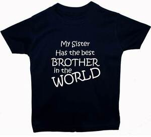My Sister Has The Best Brother Baby Childrent Shirt Top ...