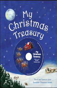 My-Treasury-of-Christmas-Stories-Book-CD-Very-Good