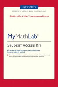 MyMathLab Kit by Pearson Education Staff...
