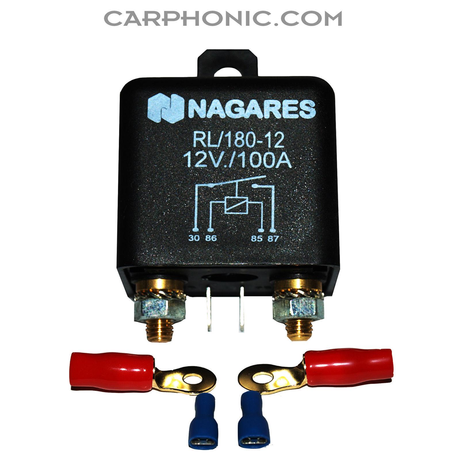 Batterietrennrelais 12 Volt //140 Ampere Vollautomatik BSR