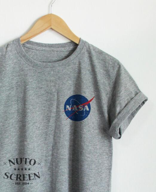 NASA POCKET T-SHIRT UNISEX TUMBLR TOP CUTE SHIRTS OOTD ...
