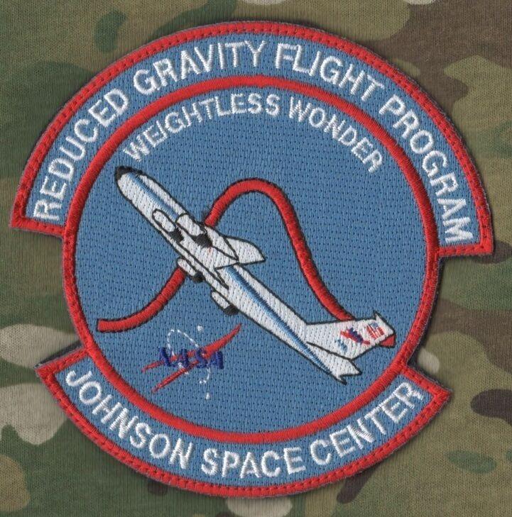 NASA SPACE PROGRAM burdock PATCH: ZERO G EFFECTS FLIGHT ...