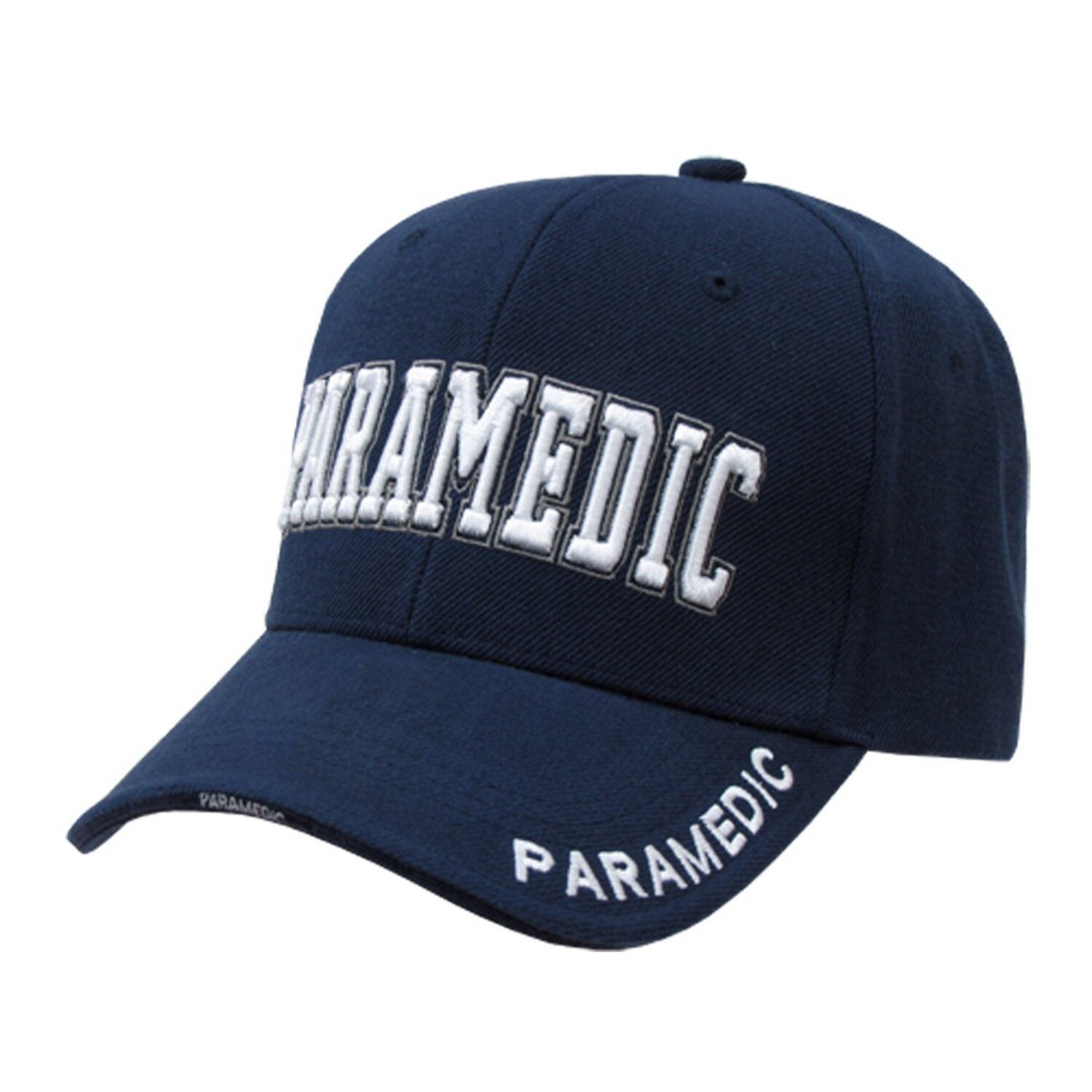 navy blue paramedic emt baseball cap caps hat hats ebay