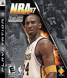 NBA 07  (Sony Playstation 3, 2006)