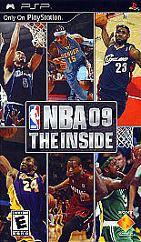 NBA 09: The Inside  (PlayStation Portabl...