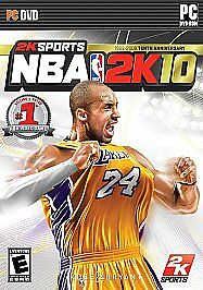 Details about NBA 2K10 2010 PC Computer Pro Basketball Game 2K Sports