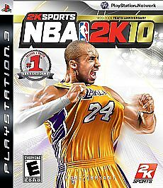 NBA 2K10  (Sony Playstation 3, 2009)
