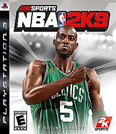 NBA 2K9  (Sony Playstation 3, 2008)
