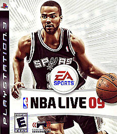 NBA Live 09  (Sony Playstation 3, 2008)