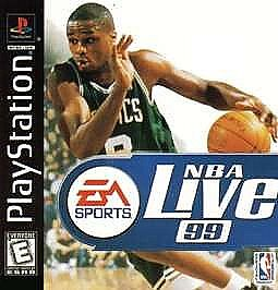 NBA Live 99  (PlayStation, 1998)