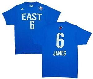 nba trikot t shirt name number all star east lebron james. Black Bedroom Furniture Sets. Home Design Ideas