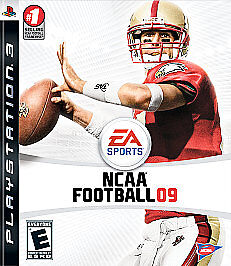 NCAA Football 09  (Sony Playstation 3, 2...
