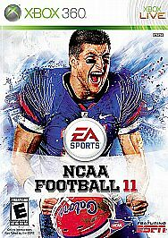 NCAA Football 11 (Microsoft Xbox 360, 20...