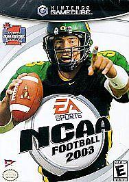 NCAA Football 2003 (Nintendo GameCube, 2...