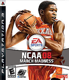 NCAA March Madness 08  (Sony Playstation...